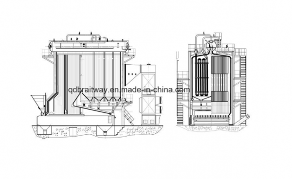 Sequence Chain Grate Boilers (35-130T/H)